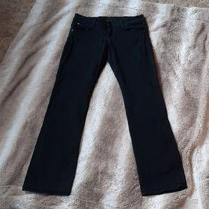 Hudson stretchy straight jeans